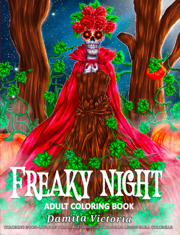 freaky night coloring by damita victoria