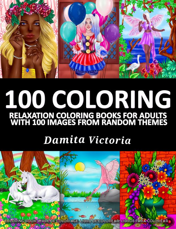100 Coloring by Damita Victoria