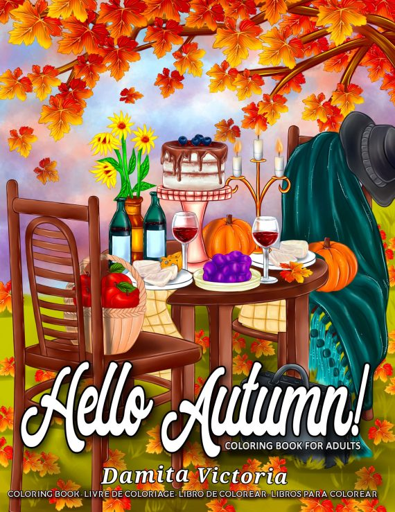 Hello Autumn by Damita Victoria