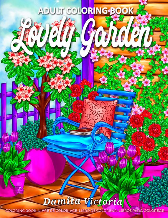 Lovely Garden by Damita Victoria