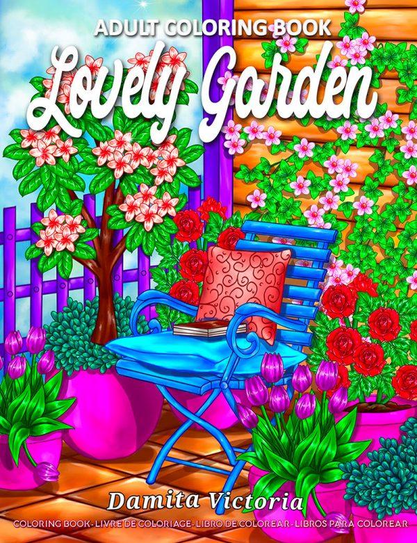Lovely Garden by Damita Victoria