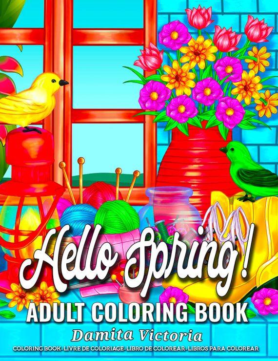 Hello Spring by Damita Victoria