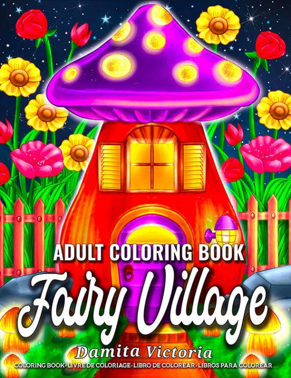 Fairy-Village-Adult-Coloring-Book-by-Damita-Victoria