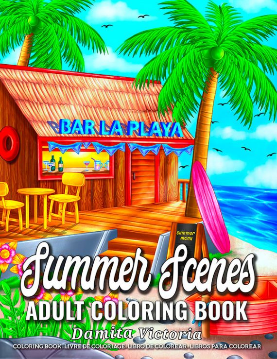 Summertime-paperback-Adult-Coloring-Book-by-Damita-Victoria.