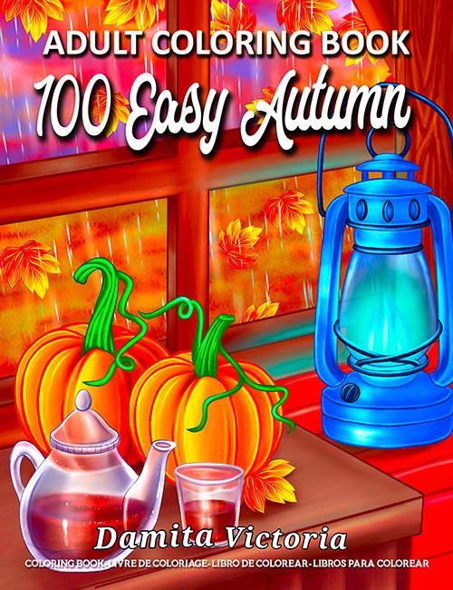 100-Easy-Autumn-coloring-book
